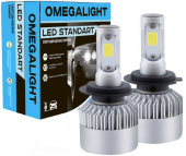 Лампа LED Omegalight Standart H4 2400lm